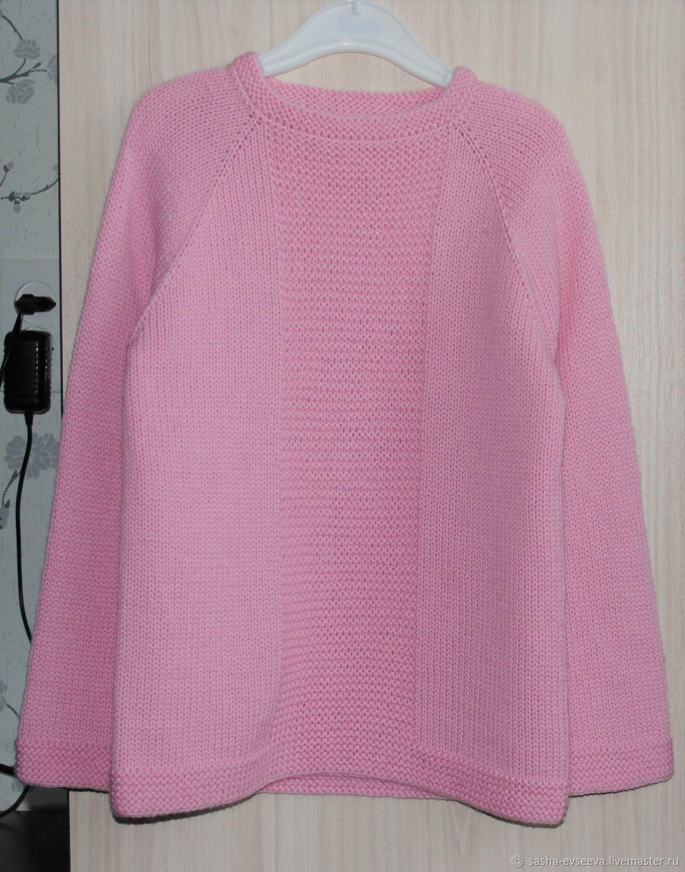 """Пуловер """"Нежность"""" для девочки"""