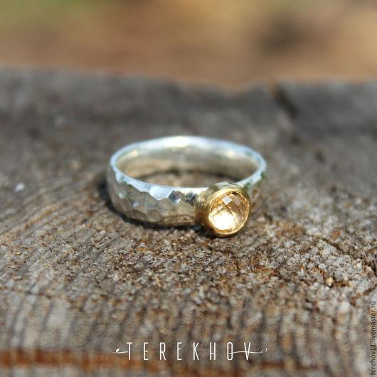 """Кольца ручной работы. Ярмарка Мастеров - ручная работа. Купить кольцо """" Минас"""". Handmade. Желтый, кольцо"""