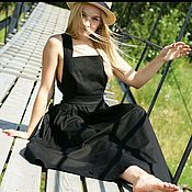 Одежда ручной работы. Ярмарка Мастеров - ручная работа Сарафан с открытой спиной.. Handmade.