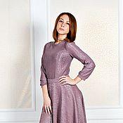 Одежда ручной работы. Ярмарка Мастеров - ручная работа Скидка -50%Длинное платье с поясом. Handmade.