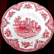 Винтаж handmade. Livemaster - original item Large dining plates of the series, Old Britain Castles, Johnson Brothers. Handmade.