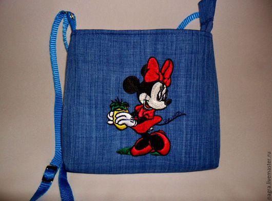 Женские сумки ручной работы. Ярмарка Мастеров - ручная работа. Купить Детская сумочка. Handmade. Синий, подарок, яркая сумочка