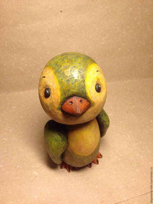 """Игрушки животные, ручной работы. Ярмарка Мастеров - ручная работа. Купить Пингвин """"Морти"""". Handmade. Пингвин, резьба по дереву"""