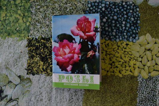 """Винтажные книги, журналы. Ярмарка Мастеров - ручная работа. Купить Открытки""""Розы"""" 1976г. Handmade. Комбинированный, набор открыток, роза, бумага"""