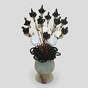 Цветы и флористика handmade. Livemaster - original item Agate flowers
