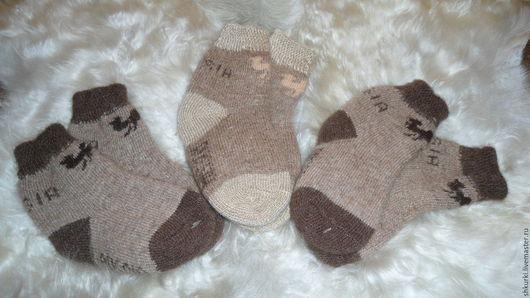 Носки, Чулки ручной работы. Ярмарка Мастеров - ручная работа. Купить Детские носки из верблюжьей шерсти. Handmade. Носки, детки