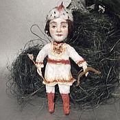 """Куклы и игрушки ручной работы. Ярмарка Мастеров - ручная работа """"сказка о царе Салтане"""" Гвидон  продано. Handmade."""