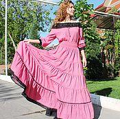Одежда handmade. Livemaster - original item Summer suit (dress)