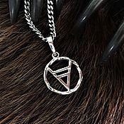 Русский стиль handmade. Livemaster - original item The symbol of Veles (2 cm). Handmade.