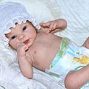 кукла реборн Полина (с анатомическим торсом)