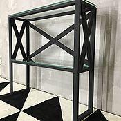 Подставки ручной работы. Ярмарка Мастеров - ручная работа Консоль BLACK CROSS. Handmade.