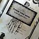 """Ежедневники ручной работы. Заказать Ежедневник мужской """"Франкенштейн"""". Даша Голова (podarki-dasha). Ярмарка Мастеров. Мужской подарок, кожа"""