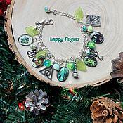 Украшения handmade. Livemaster - original item Bracelet Harry Potter green Slytherin Volan de mort Severus. Handmade.