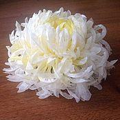 Свадебный салон ручной работы. Ярмарка Мастеров - ручная работа Свадебная хризантема. Handmade.