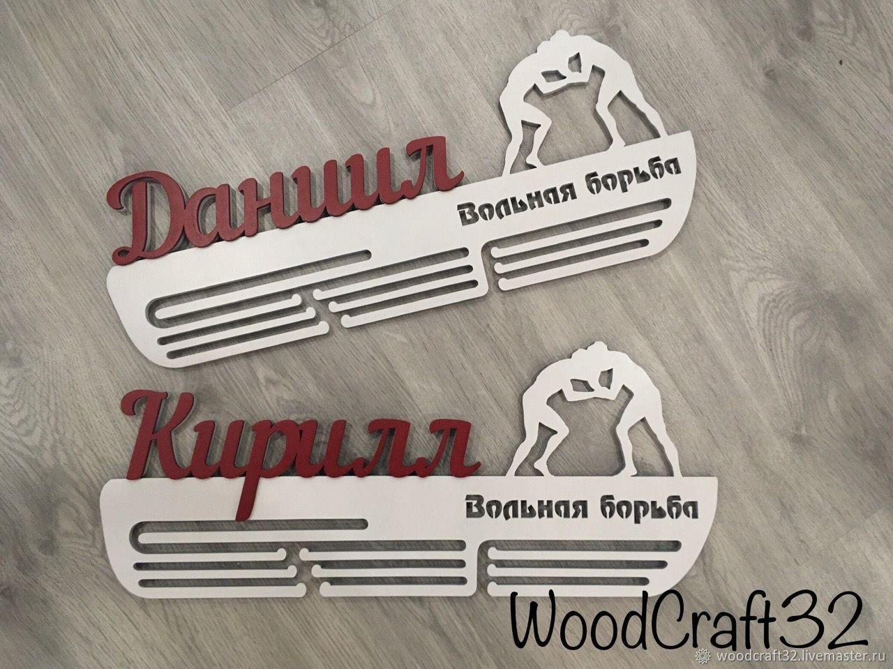 Medallist freestyle wrestling, Sports souvenirs, Bryansk,  Фото №1