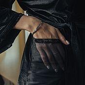 Халаты ручной работы. Ярмарка Мастеров - ручная работа Черный бархатный халат в подарок подруге. Handmade.