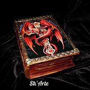 Для дома и интерьера handmade. Livemaster - original item Box-book Grimoire daenerys Targaryen. Handmade.