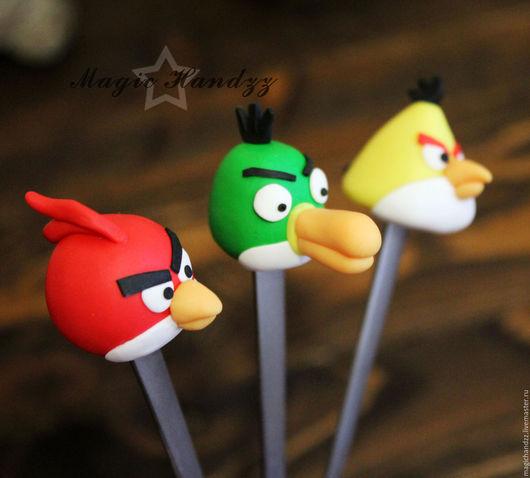 Ложки ручной работы. Ярмарка Мастеров - ручная работа. Купить Ложки с Angry birds. Handmade. Комбинированный, ложка, вкусные ложки