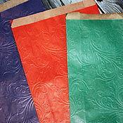 Материалы для творчества handmade. Livemaster - original item Packaging bags, colored embossed. Handmade.