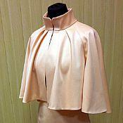 Одежда ручной работы. Ярмарка Мастеров - ручная работа Костюм - Жакет-накидка и юбка. Handmade.