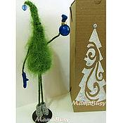 Ёлочка-топотушка новогодняя в подарочной коробке-3