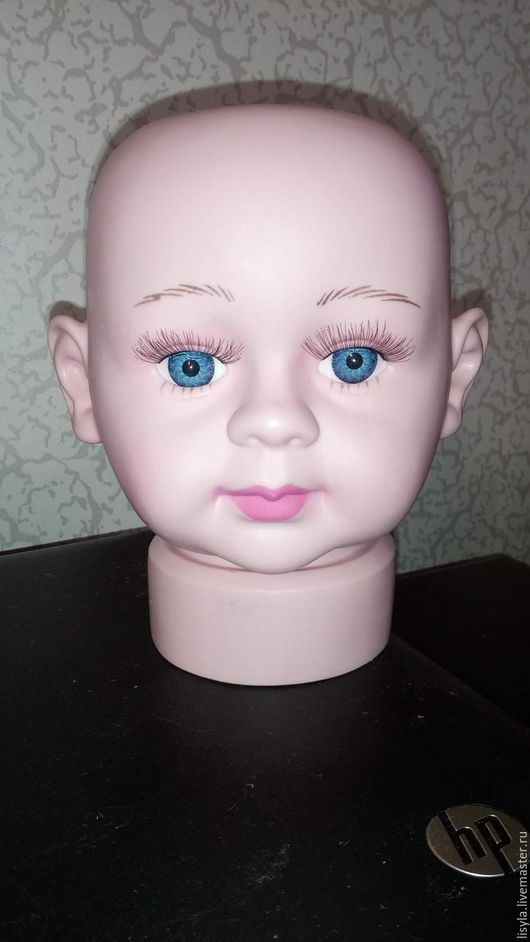Манекены ручной работы. Ярмарка Мастеров - ручная работа. Купить Манекен- детская голова(новорожденный). Handmade. Бежевый, манекен голова, продажа