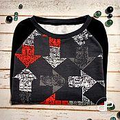 """Одежда ручной работы. Ярмарка Мастеров - ручная работа Свитшот """"Стрелки-2"""". Handmade."""