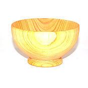 Посуда ручной работы. Ярмарка Мастеров - ручная работа Пиала деревянная для чая и прочих жидкостей из натурального кедра K1. Handmade.