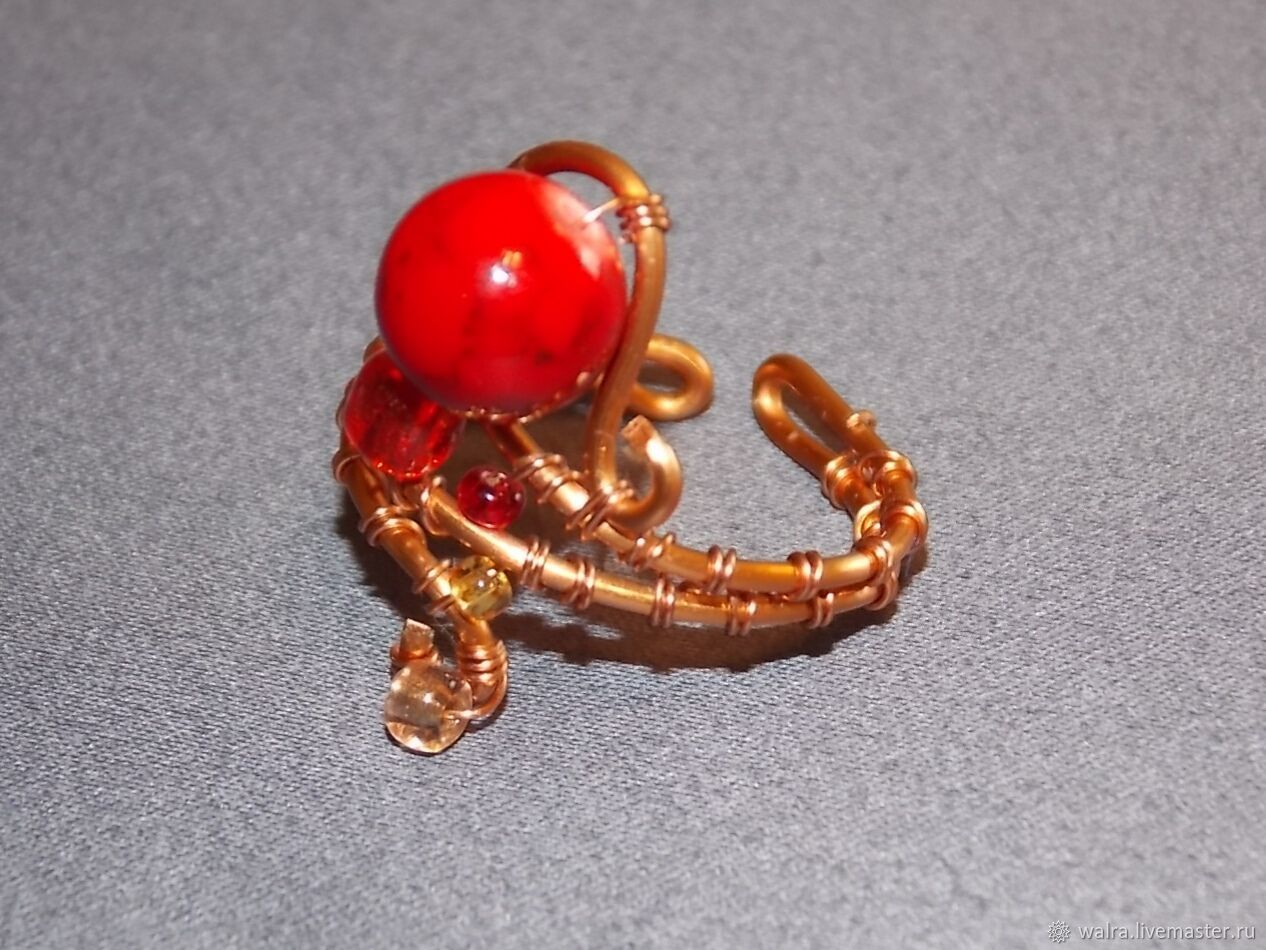 Ring: Scarlet berry, Rings, Moscow,  Фото №1