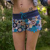 Одежда ручной работы. Ярмарка Мастеров - ручная работа Шорты Grunge Jeans. Handmade.