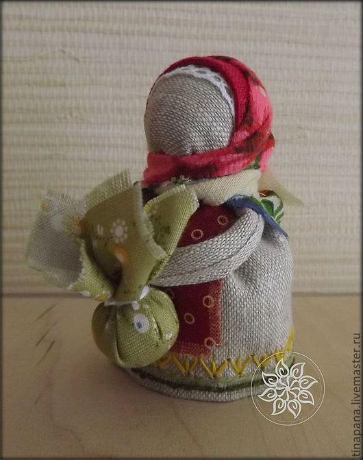 """Народные куклы ручной работы. Ярмарка Мастеров - ручная работа. Купить """"Подорожница"""". Handmade. Подорожница, лён"""