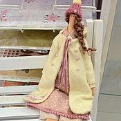 Куклы Тильда ручной работы. Ярмарка Мастеров - ручная работа Девушка в зимнем 2. Handmade.