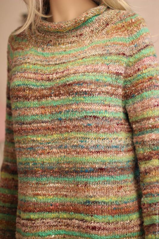 Кофты и свитера ручной работы. Ярмарка Мастеров - ручная работа. Купить Женский  свитер из NORO. Handmade. Комбинированный, летний свитер