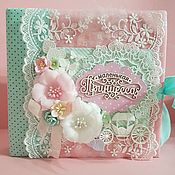 Канцелярские товары handmade. Livemaster - original item Photo albums: Photo album for girls. Handmade.