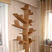 Для дома и интерьера ручной работы. Ярмарка Мастеров - ручная работа полка - дерево. Handmade.