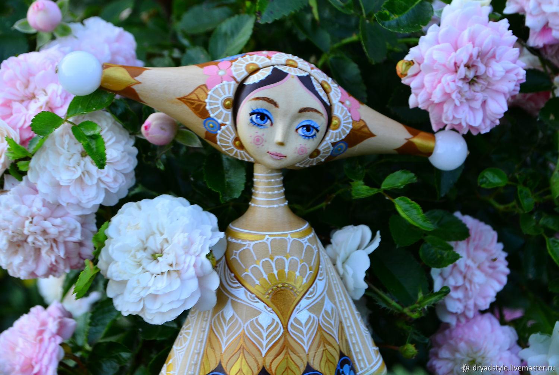 Цветочная фея. Волшебница.Кукла из дерева.Лия, Куклы и пупсы, Сумы,  Фото №1