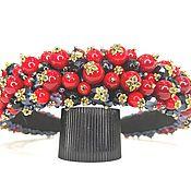 Украшения handmade. Livemaster - original item A rim of beads in the style of Dolce. Handmade.