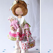 Куклы и игрушки ручной работы. Ярмарка Мастеров - ручная работа Мама. Кукла текстильная. Большеногая девочка.. Handmade.