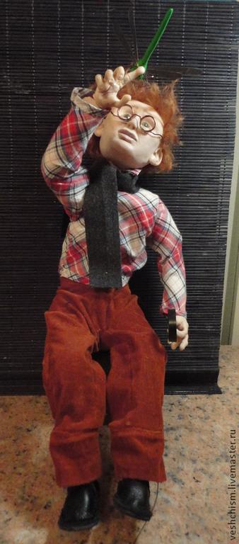 Коллекционные куклы ручной работы. Ярмарка Мастеров - ручная работа. Купить Натуралист. Handmade. Разноцветный, текстиль
