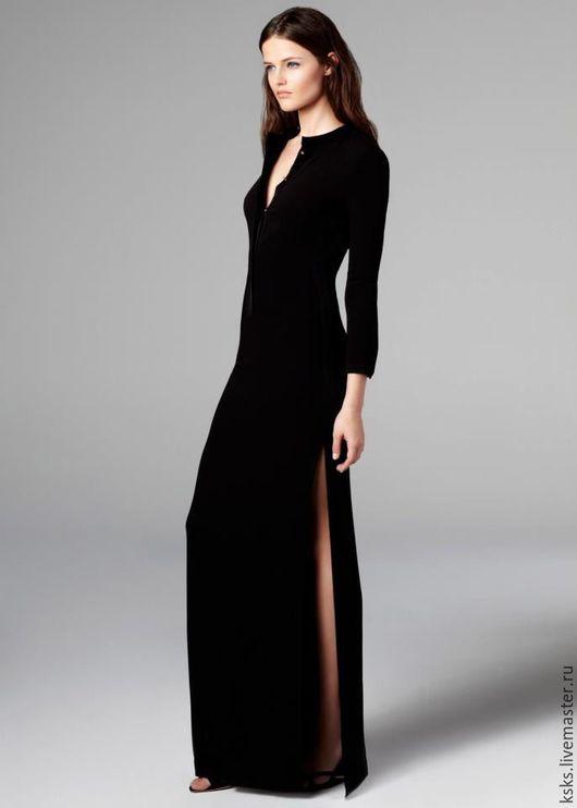 Платья ручной работы. Ярмарка Мастеров - ручная работа. Купить ladies night. Handmade. Черный, платье длинное, Платье нарядное
