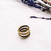 Rings handmade. Livemaster - original item Mustachioed ring