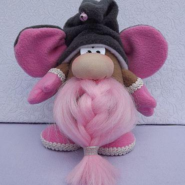 Куклы и игрушки. Ярмарка Мастеров - ручная работа Игрушки: Интерьерный гномышь. Handmade.