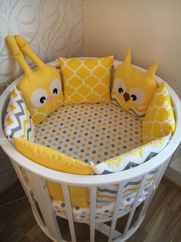 Бортики в детскую кроватку, Бортики в кроватку, Москва,  Фото №1