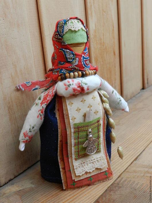 Народные куклы ручной работы. Ярмарка Мастеров - ручная работа. Купить Кукла Берестушка. Handmade. Разноцветный, подарок на любой случай