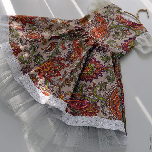 Одежда для девочек, ручной работы. Ярмарка Мастеров - ручная работа. Купить Детское нарядное платье. Handmade. Комбинированный, платье для девочки