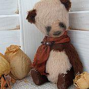 Куклы и игрушки ручной работы. Ярмарка Мастеров - ручная работа Мишка тедди. Панда розовая.. Handmade.
