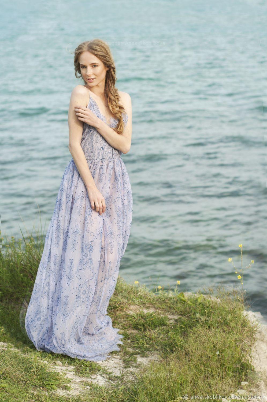 Lilac lace wedding dress - Share - Sale Sample – shop online on ...