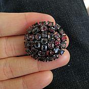 Украшения handmade. Livemaster - original item Round ring with Spinel mix of colors art. W1. Handmade.