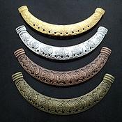 Материалы для творчества ручной работы. Ярмарка Мастеров - ручная работа Коннекторы с отверстиями для крепления подвесок. Handmade.