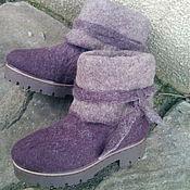 """Обувь ручной работы. Ярмарка Мастеров - ручная работа Валенки """" Просто Валенки"""". Handmade."""